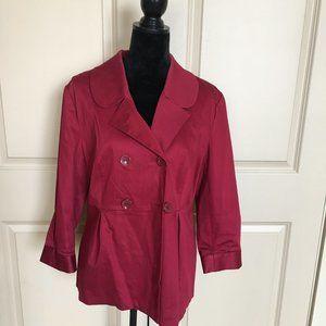 Red dressy jacket/blazer